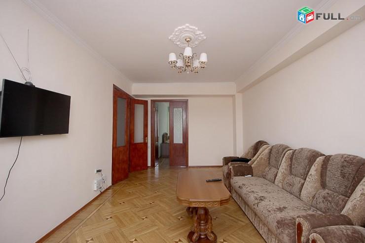 3 սենյականոց բնակարան Հյուսիսայի պողոտայի հարևանությամբ:3 սենյակ-Կոդ-28140