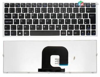 Keyboard sony vpcya vpcyb silver new