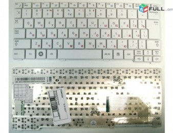 Keyboard samsung np-n148, np-n150, n148, n150, nb30, n128 (white) series new