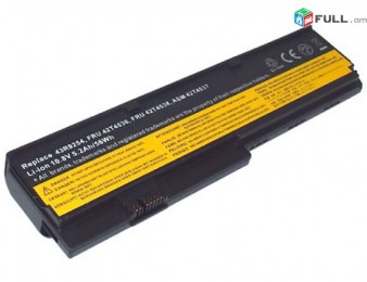 BATTERY LENOVO THINKPAD X200, X201 SERIES (42T4536) NEW