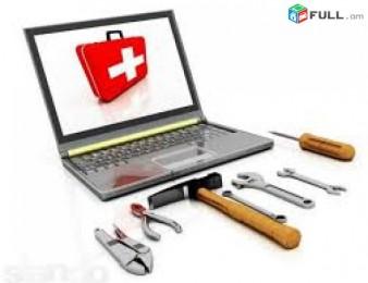 Notebookeri,netbookeri,hamakrgichneri virusneri maqrum / format+anvjar ayc