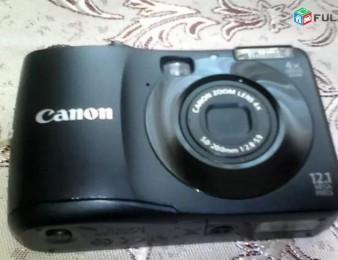 Canon fotokamera PowerShot A1200 HD, 12.1MP, 4zoom