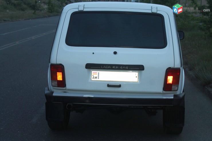 Rent a car, oravardzov NIVA 2007 tiv, FULL havaqac, gazov, aranc varord