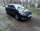Rent a car. prakat hyundai solaris (accent) 2018 tiv avtomat poxancman tup aranc varord
