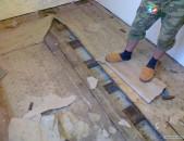 Պատերի քանդում.մաքրում,եվ հեռացում պեռֆերատորով և այլ գործիքներով (Բրիգադով)