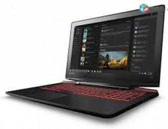 "Նոր Lenovo Y700 / Core i7 6700HQ / 16Gb / 128Gb /1000Gb / 4Gb GTX 960M / 17.3"" FHD"