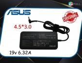 ՕՐԻԳԻՆԱԼ  Asus 19v 6 32A charger 4.5x3.0 mm zaryadshnik notebooki