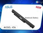 Laptop Battery for ASUS K56 K56C K56CA A46C S550C S56 S56C S405CA S550CA, fits Asus A41-K56, A42-K56, A31-K56