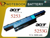 Notebook Battery Acer 5253  Acer 5253G- Նոր (11.1v 5200mAh)
