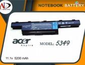 նոթբուքի մարտկոց Battery Acer 5349- Նոր