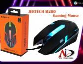 Gaming mouse USB  JERTECH M200 RGB LED Խաղային մկնիկ xaxayin mknik