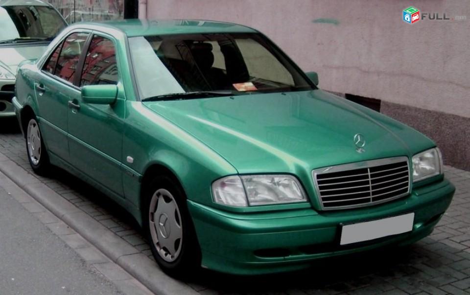 Mercedes-Benz C-Class , 1998թ.kgnem vtarvac ansarq w202 w124 raskulachit