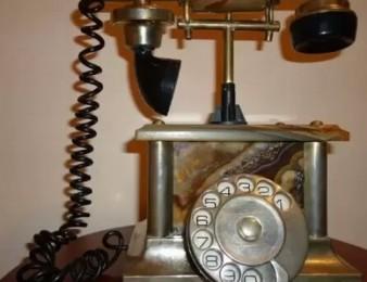 Dashnakcakan heraxos Հեռախոս նվեր Լևոն Շանթից Դրոյին