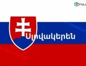 ՍԼՈՎԱԿԵՐԵՆԻՑ տարբեր լեզուներ / SLOVAKERENIC tarber lezuner