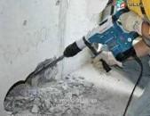 Պեռֆերատորով Կատարում եմ տարբեր տեսակի շինարարական քանդման ցանկացած աշխատանքներ1