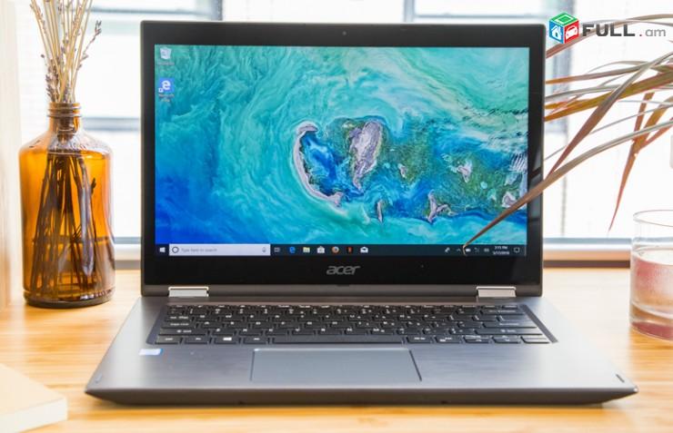"""NOTEBOOK Acer Spin 3 15,6 """" Full HD, touch, Core i7-7500, DDR4 12 GB, 1Tb Ապառիկ"""