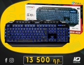 HDelectronics: Keyboard : Gaming  Ստեղնաշար *   Crown CMKG-403 *  RGB լույսերով