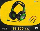 HDelectronics: Բարձրորակ Ականջակալ *    Crown CMGH-3002 / Green / 3.5mm jack