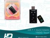 HDelectronics:  Բարձրորակ SOUND adapter  USB 7.1 Sound Card