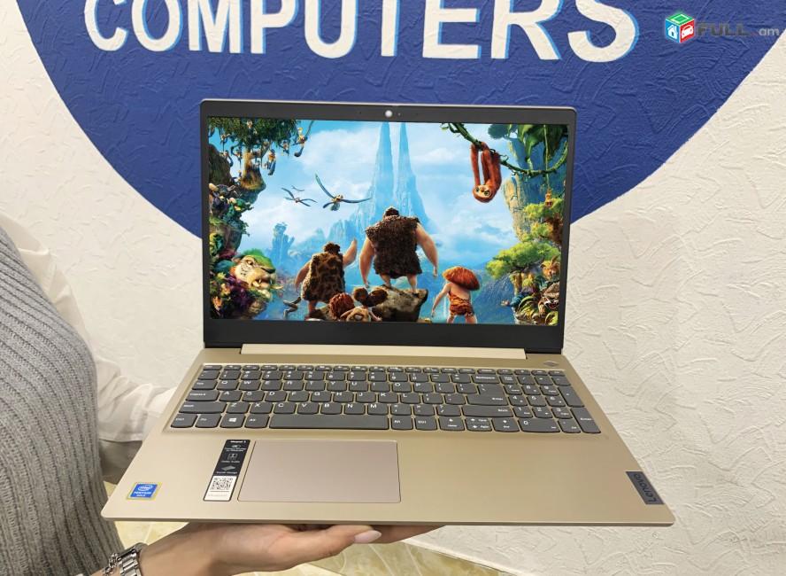 Lenovo idepad 3- Intel Pentium® Gold 6405U, DD4 4GB, 128GB SSD, 15.6 FHD IPS -ապառիկը տեղում
