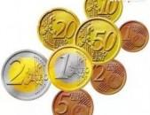 ПОКУПАЮ монеты евро, доллар, фунт и другие иностранне монеты