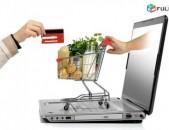 Ինտերնետ (օնլայն) խանութների և վիտրինա / կատալոգ կայքերի պատրաստում