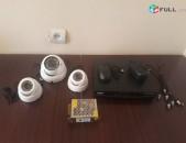 CCTV տեսախցիկների վաճառք (կոմպլեկտ)