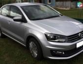 Rent a car Prokat Автопрокат Avtoprokat ավտովարձույթ Volkswagen Polo 2016tiv