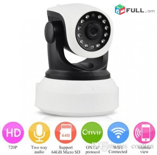 Kamera Sharjakan wi-fi online HD720P Ночного Видения