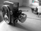 Quarz 2m Zoom 8mm Movie Camera. Made in USSR. Սովետական տեսախցիկ