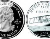 25 центов - Соединенные Штаты Америки - Северная Каролина - ԱՄՆ 25 ցենտ