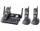Panasonic KX-TG5673 5.8GHz Corldess Phone System (Refurb)