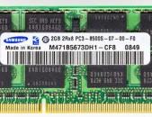 SAMSUNG 2GB 2Rx8 PC3 - 8500S (RAM) DDR3 Համակարգչի նոութբուքի հիշողություն
