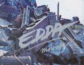 VINYL Ձայնապնակների EDDA MUVEK - Sարբեր տեսակի ալբոմներ