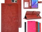 BBIMEX Galaxy Note 5 wallet cose  Հեռախոսի արհեստական կաշվե կազմ  (kojux, chxol)