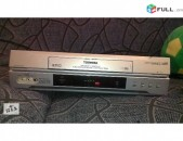 TOSHIBA V-E61A 6 HEAD Hi-Fi stereo տեսամագնիտաֆոն