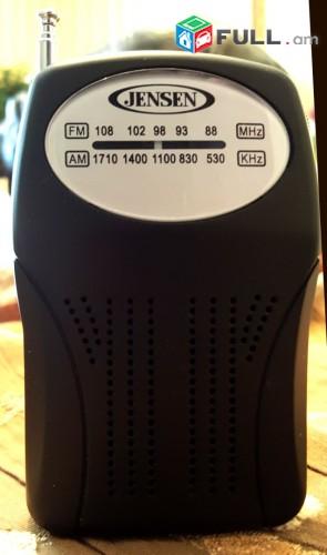 JENSEN MR-75 ռադիո նվագարկիչ