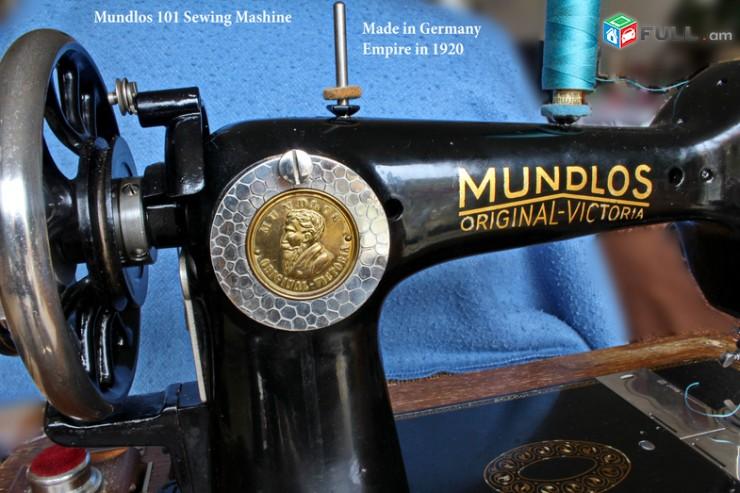 MUNDLOS հին կարի մեքենա Գերմանական