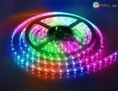 SMD LED Flexible Strips լուսավոր 16 գույնավոր էֆեկտներ