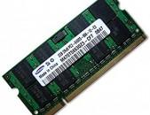 SAMSUNG 2GB 2Rx8 PC2-6400-666-12-E3 RAM 2հատ հիշողություներ