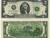 ԱՄՆ-ի 2 դոլարանոց վաճառվում է 2003 թվականի