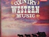 VINYL Ձայնապնակներ COUNTRY WESTERN MUSIC տարբեր տեսակի ալբոմներ