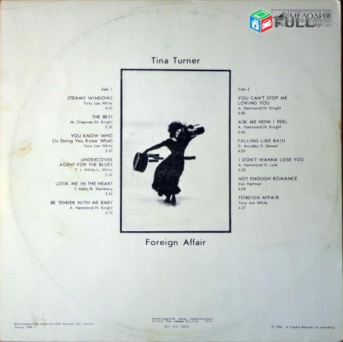 VINYL Ձայնապնակներ TINA TURNER (1) - Sարբեր տեսակի ալբոմներ
