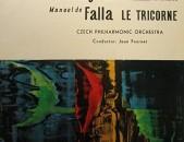 VINYL Ձայնապնակներ Claude Debussy , Manuel De Falla , Sարբեր տեսակի ալբոմներ