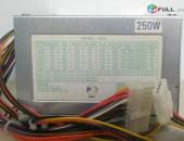 Блок питания LPF2 80FAN ATX20+4 250W Հոսանքի բլոկ 250Watt