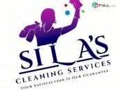 բնակարանների որակյալ  մաքրման աշխատանքներ