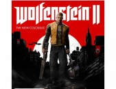 Ps4 Wolfenstein II: The New Colossus original disk pak tup naev poxanakum playst