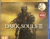 Ps4 Dark Souls 3 the fire fades edition original disk pak tup playstation 4
