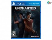 Ps4 Uncharted Lost Legacy disk pak tup playstation 4