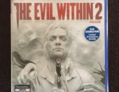 Ps4 The Evil Within 2 original disk pak tup playstation 4